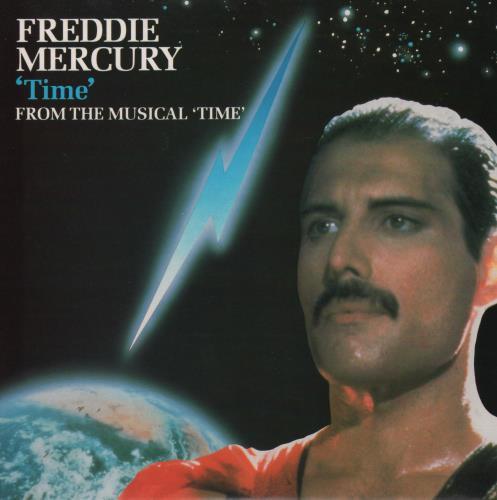"Freddie Mercury Time + inner sleeve 7"" vinyl single (7 inch record) UK MER07TI360999"