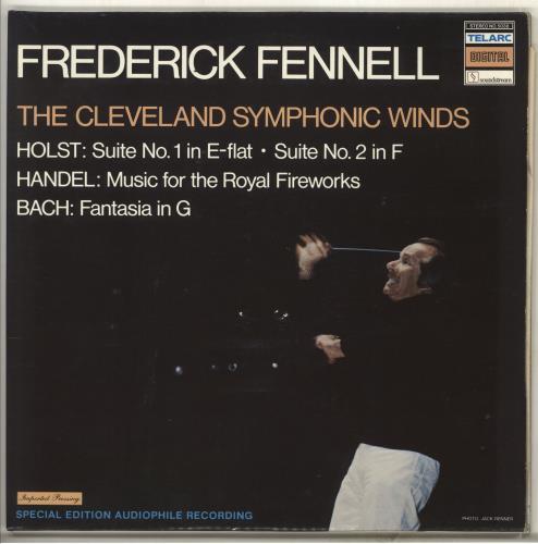 Frederick Fennell Holst / Handel / Bach vinyl LP album (LP record) German FFHLPHO707726