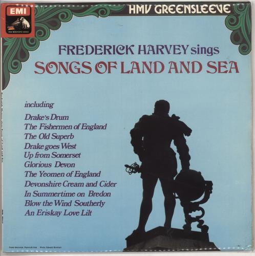 Frederick Harvey Songs Of Land And Sea vinyl LP album (LP record) UK 0WZLPSO737283