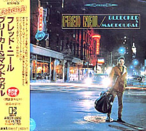 Fred Neil Bleeker & Macdougal CD album (CDLP) Japanese F-NCDBL112488
