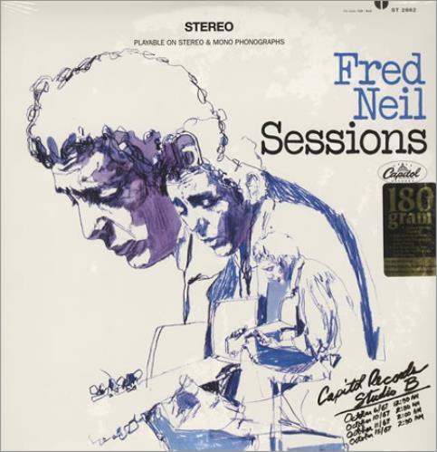 Fred Neil Sessions vinyl LP album (LP record) US F-NLPSE390573