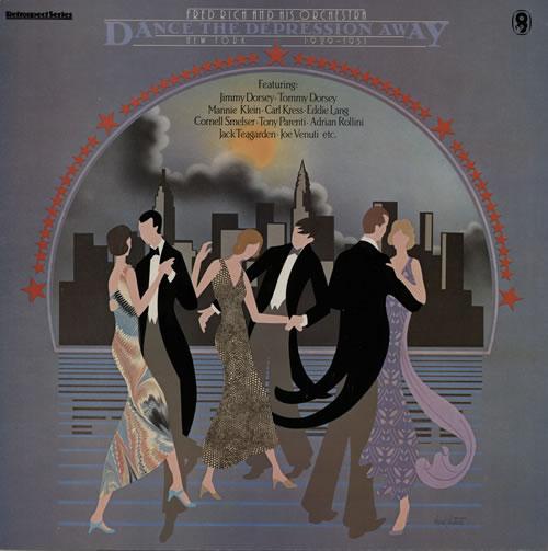 Fred Rich Dance The Depression Away vinyl LP album (LP record) UK FWPLPDA566987
