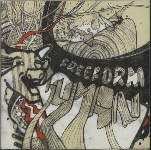 Freeform Human 2-LP vinyl record set (Double Album) UK IT62LHU650386