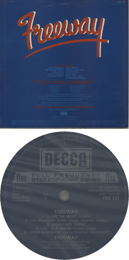 Freeway Freeway vinyl LP album (LP record) UK H2ELPFR636823