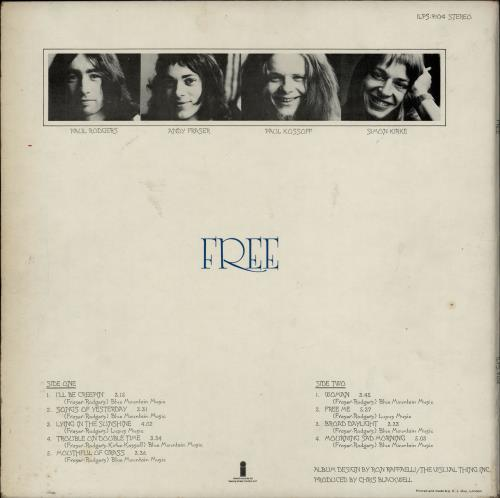 Free Free - 1st - Smooth Label vinyl LP album (LP record) UK FRELPFR676844
