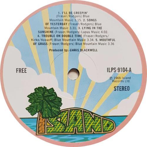 Free Free - 2nd - Autographed vinyl LP album (LP record) UK FRELPFR697253