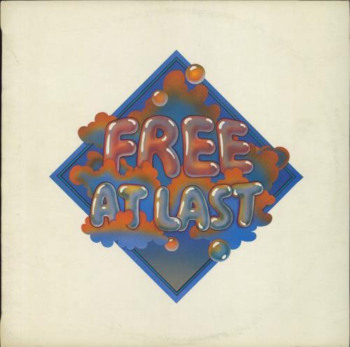 Free Free At Last - Pink Rim - VG vinyl LP album (LP record) UK FRELPFR583222