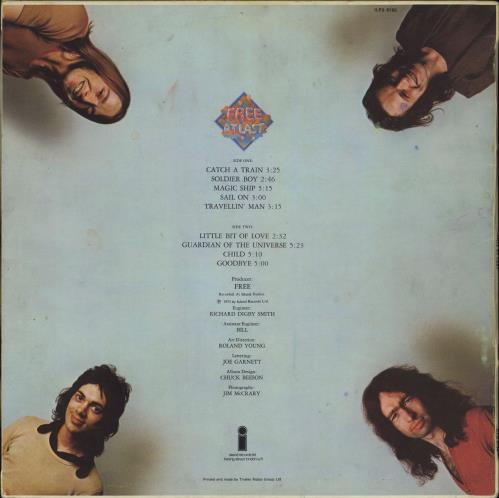 Free Free At Last - white label vinyl LP album (LP record) UK FRELPFR772151