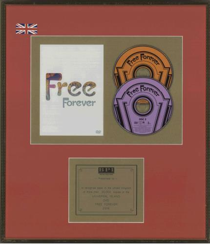 Free Free Forever award disc UK FREAWFR718820