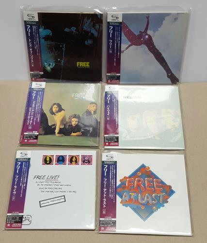 Free Paper Sleeve Collection SHM CD Japanese FREHMPA652810