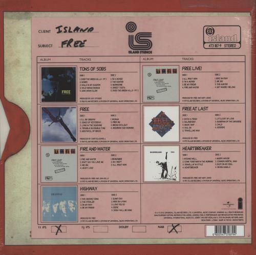 Free The Vinyl Collection - 180gm Vinyl Box Set - Sealed Vinyl Box Set UK FREVXTH755930
