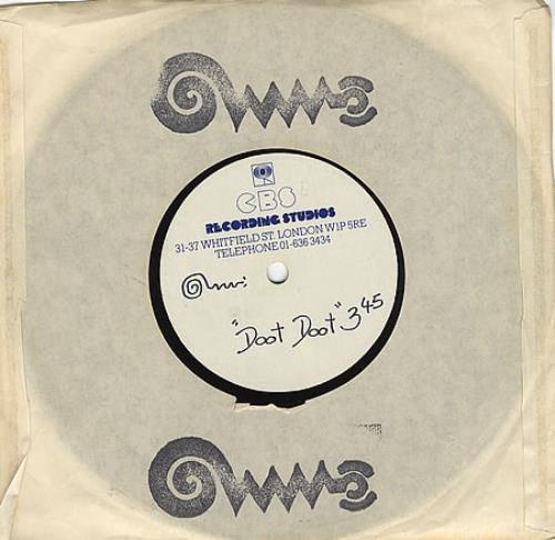 "Freur Doot Doot 7"" vinyl single (7 inch record) UK FEU07DO367691"