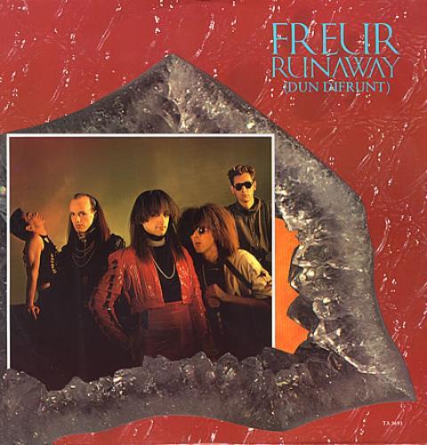 "Freur Runaway 12"" vinyl single (12 inch record / Maxi-single) UK FEU12RU359979"