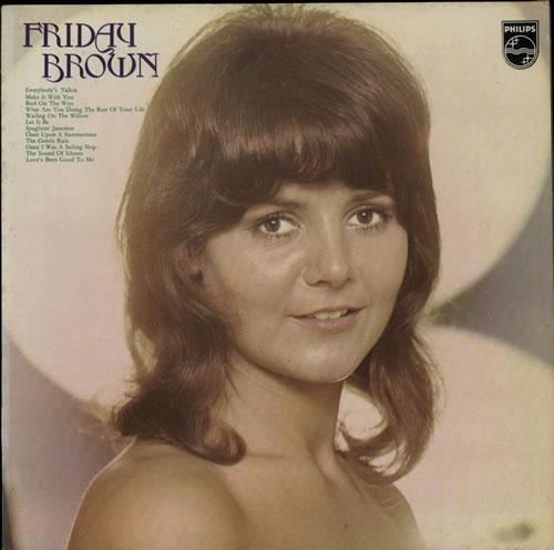 Friday Brown Friday Brown vinyl LP album (LP record) UK F8ILPFR618830