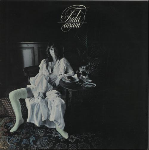 Frida Frida Ensam - 1st vinyl LP album (LP record) Swedish FRILPFR69556