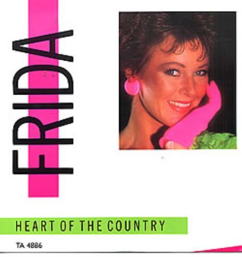 """Frida Heart Of The Country 12"""" vinyl single (12 inch record / Maxi-single) UK FRI12HE30352"""