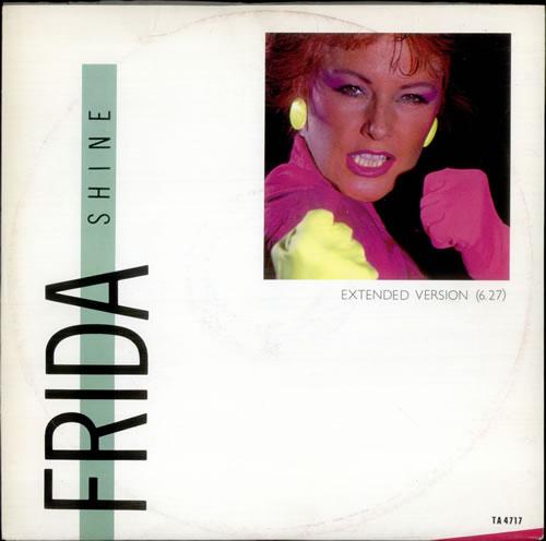 """Frida Shine 12"""" vinyl single (12 inch record / Maxi-single) UK FRI12SH24961"""
