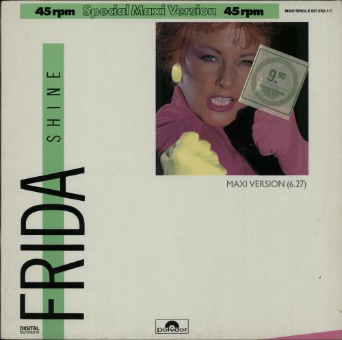 """Frida Shine 12"""" vinyl single (12 inch record / Maxi-single) German FRI12SH654354"""