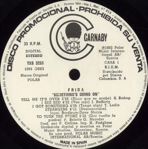 Frida Something's Going On vinyl LP album (LP record) Spanish FRILPSO697611