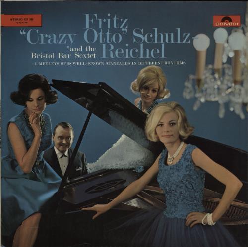 Fritz 'Crazy Otto' Schultz-Reichel Fritz 'Crazy Otto' Schultz-Reichel vinyl LP album (LP record) UK H8DLPFR660997