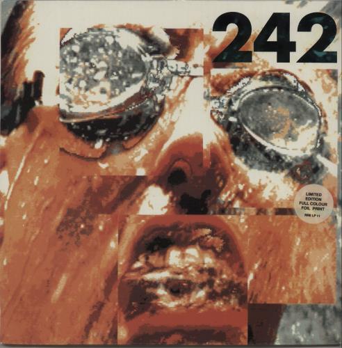 Front 242 Tyranny (For You) + Foil Insert vinyl LP album (LP record) Dutch 242LPTY669733