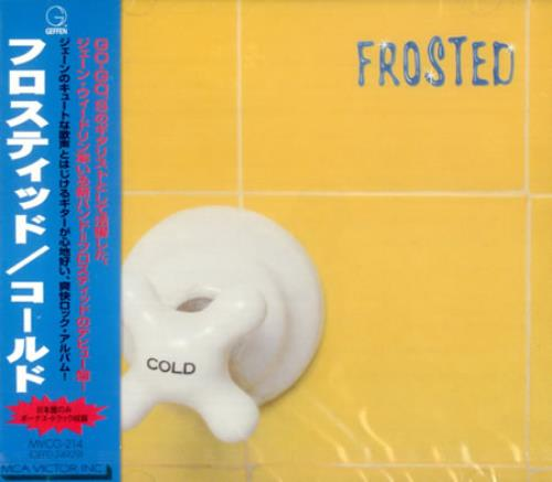 Frosted Cold CD album (CDLP) Japanese FSDCDCO134915
