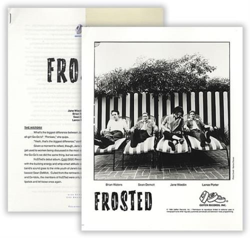 Frosted Cold media press pack US FSDPPCO401011