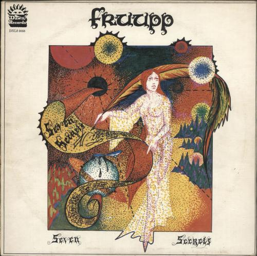 Fruupp Seven Secrets vinyl LP album (LP record) UK FWWLPSE723894