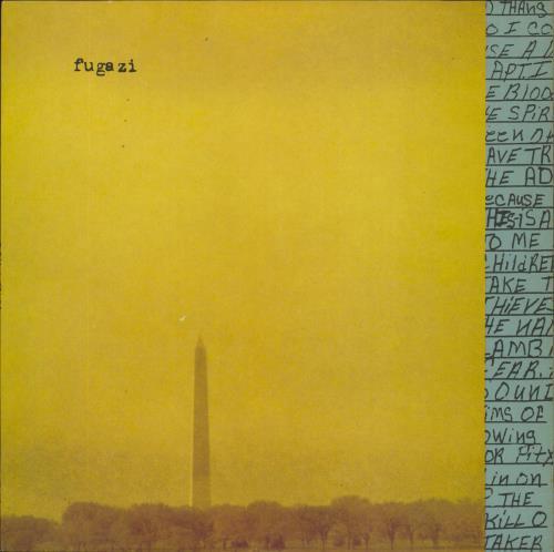 Fugazi In On The Kill Taker vinyl LP album (LP record) French FUALPIN644796