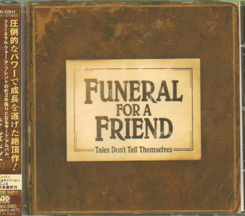 Funeral For A Friend Tales Don't Tell Themselves CD album (CDLP) Japanese FAFCDTA641809