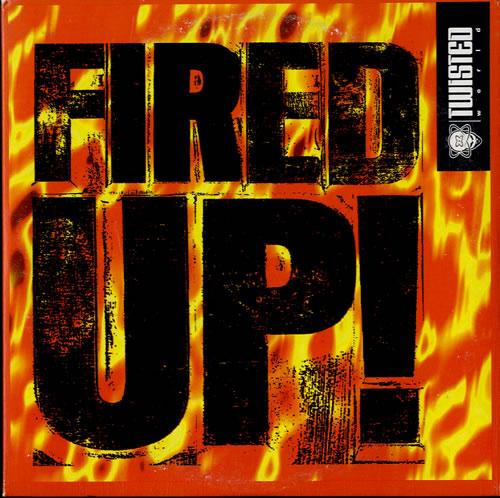 "Funky Green Dogs Fired Up CD single (CD5 / 5"") Australian FVOC5FI598807"