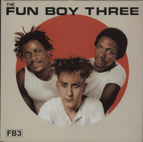Fun Boy Three FB3 vinyl LP album (LP record) UK FUBLPFB127200