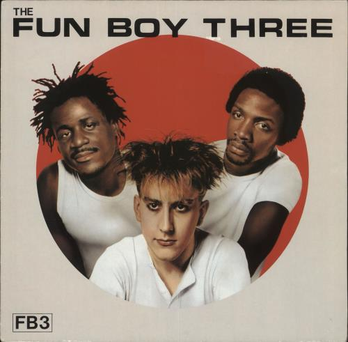 Fun Boy Three FB3 vinyl LP album (LP record) German FUBLPFB717474