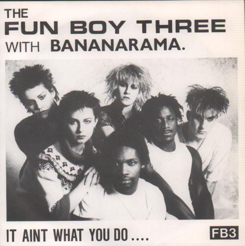 "Fun Boy Three It Aint What You Do - P/S 7"" vinyl single (7 inch record) UK FUB07IT108675"