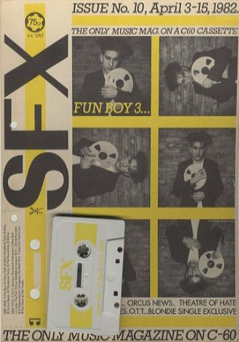 Fun Boy Three SFX cassette album UK FUBCLSF214205