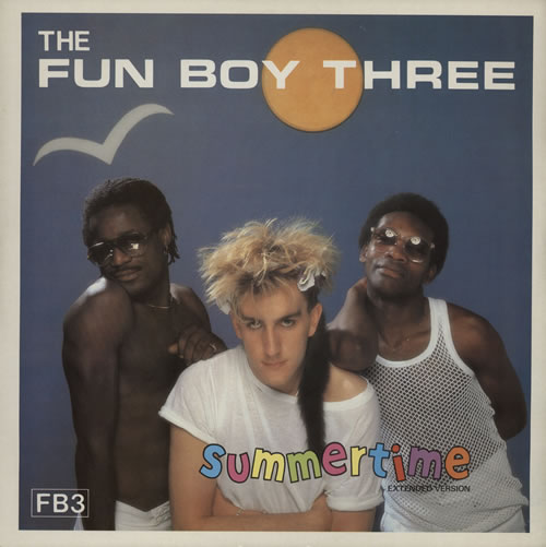 "Fun Boy Three Summertime 12"" vinyl single (12 inch record / Maxi-single) UK FUB12SU45491"