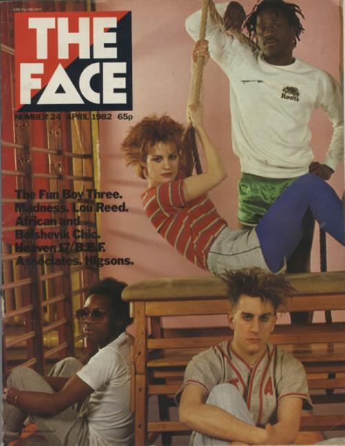 Fun Boy Three The Face - April 1982 magazine UK FUBMATH342597