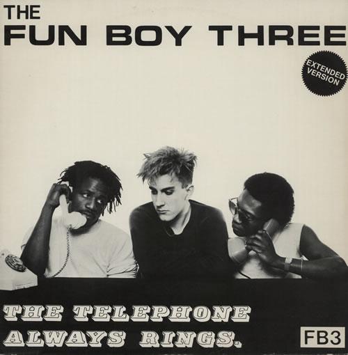 "Fun Boy Three The Telephone Always Rings 12"" vinyl single (12 inch record / Maxi-single) UK FUB12TH96687"