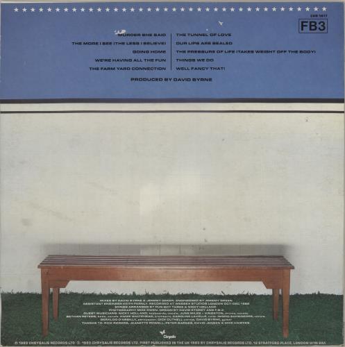 Fun Boy Three Waiting - Autographed vinyl LP album (LP record) UK FUBLPWA579600