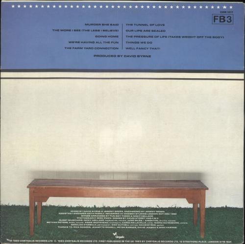 Fun Boy Three Waiting vinyl LP album (LP record) UK FUBLPWA127199