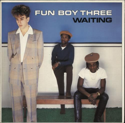 Fun Boy Three Waiting vinyl LP album (LP record) German FUBLPWA723828