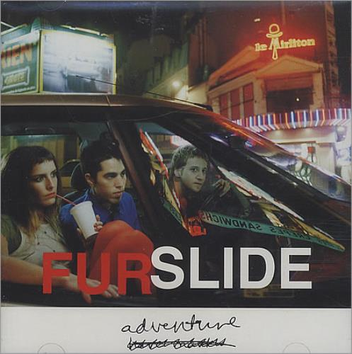 Furslide Adventure CD album (CDLP) UK FCBCDAD396936