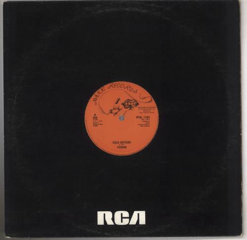 "Fusion (Reggae) Cold Outside 12"" vinyl single (12 inch record / Maxi-single) UK 04212CO740355"