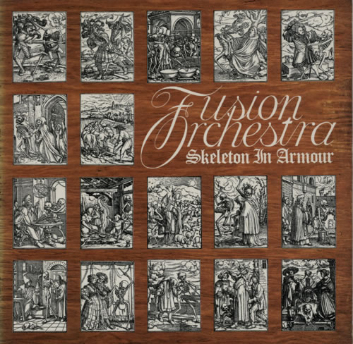 Fusion Orchestra Skeleton In Armour - 1st + press release vinyl LP album (LP record) UK FX2LPSK595434