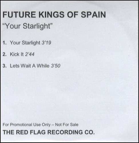 Future Kings Of Spain Your Starlight CD-R acetate UK FKSCRYO248862