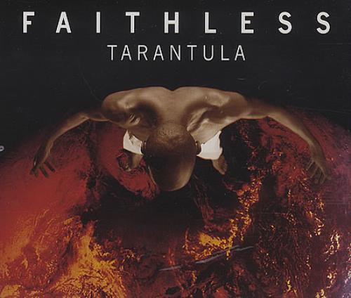"""Faithless Tarantula CD single (CD5 / 5"""") UK FTLC5TA397946"""