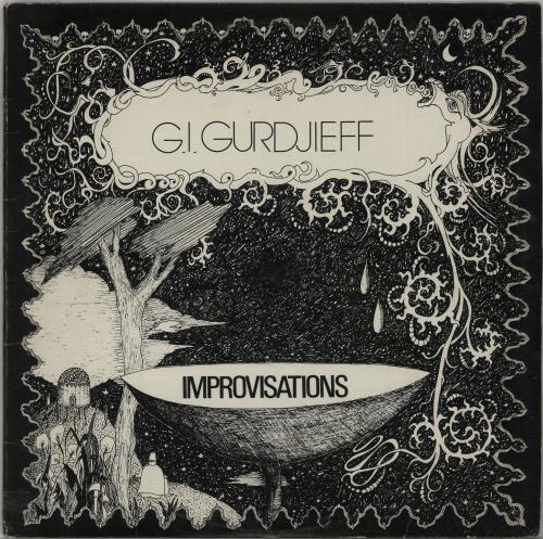 G.I. Gurdjieff Improvisations vinyl LP album (LP record) French IHILPIM651362