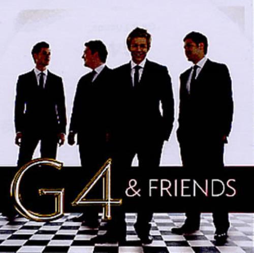G4 G4 & Friends CD-R acetate UK G-4CRGF346429