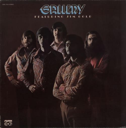 Gallery Gallery Featuring Jim Gold vinyl LP album (LP record) US GQMLPGA597048