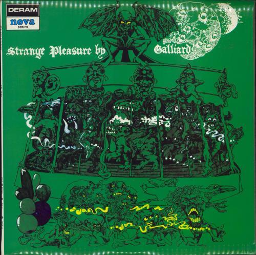 Galliard Strange Pleasure - 1st vinyl LP album (LP record) UK GL4LPST377328